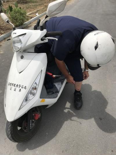 警察山區巡邏 遭成群流浪狗攻擊咬傷