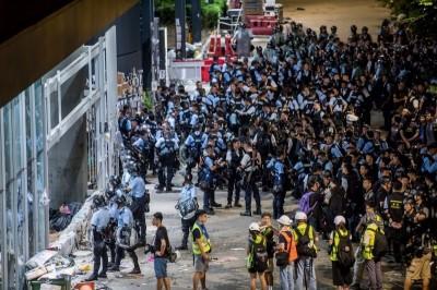 香港七一民怨沸騰 吳釗燮:顯示一國兩制是謊言