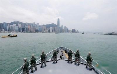 華爾街日報:港府若陷癱瘓 解放軍將出動