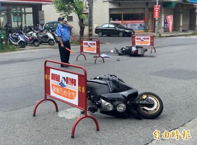 暖心!醫院附近車禍 保全衝現救人指揮交通