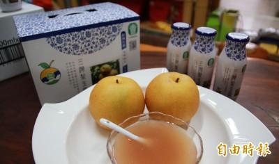 三灣「梨玉露」夯爆 今年打進中國市場