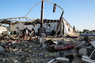 利比亞空襲炸死44移民 聯合國警告:恐觸犯戰爭罪