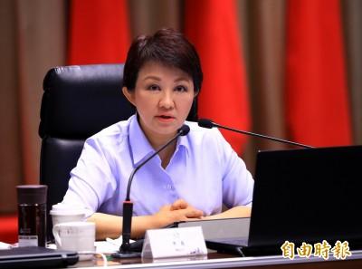 盧秀燕指中央杯葛 突取消出席行政院會