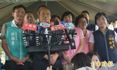 盧秀燕拒出席行政院會 蘇貞昌回應了