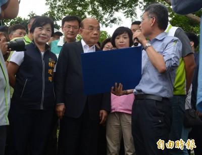 「大康橋計畫」啟動 蘇貞昌:讓旱溪從淹水變親水