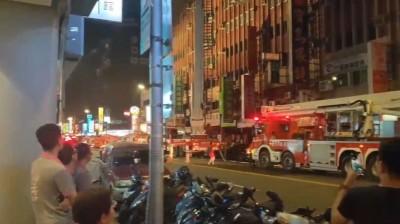 北市長安東路大樓火警 緊急疏散住戶