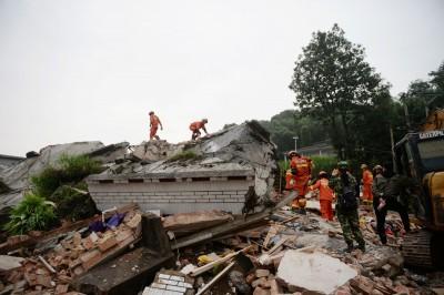 四川宜賓強震後最大餘震 規模5.6極淺強震至少9傷