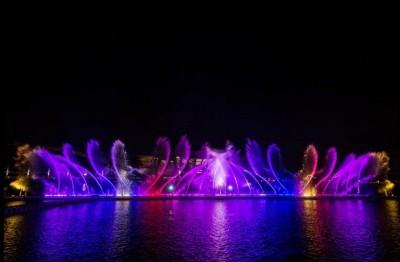 太美了! 故宮南院夜間水舞投影秀超震撼