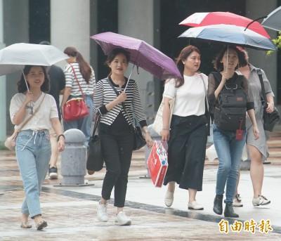 週六全台高溫悶熱 中南部嚴防豪大雨