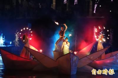 宜蘭國際童玩節首度夜間開幕 遊客突破2萬人