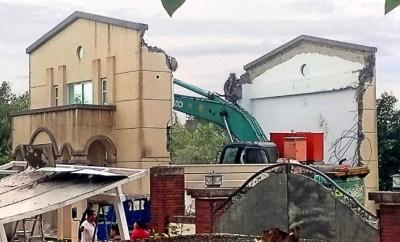 韓國瑜夫婦自拆豪華農舍違建 雲林綠營:心裡有鬼