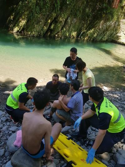 線上指導家屬實施CPR 溺水男子恢復生命徵象