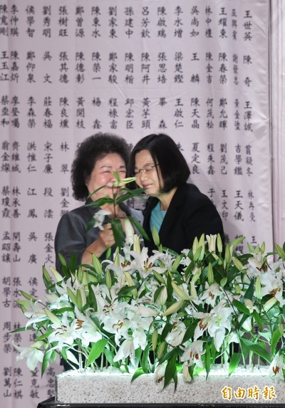 公告撤銷政治犯 陳菊︰很多人等了一輩子