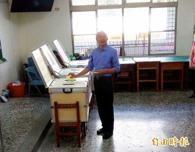 民進黨1986才成立 韓國瑜稱1979投票給綠營立委選將