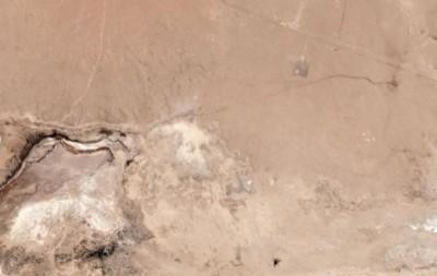 加州7.1強震傷痕太空可見 沙漠竟被「擠出水來」