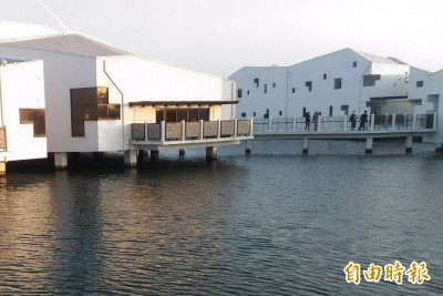 水上高腳屋「台江學園」 入圍世界建築獎