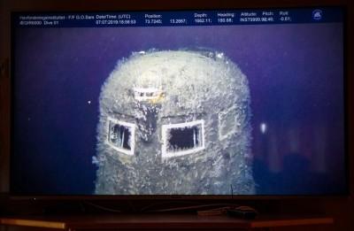 蘇俄核動力潛艦殘骸曝光 測量海水輻射量超標百萬倍