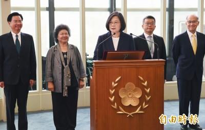 蔡英文啟程拚外交:讓更多人知道台灣是國際好品牌