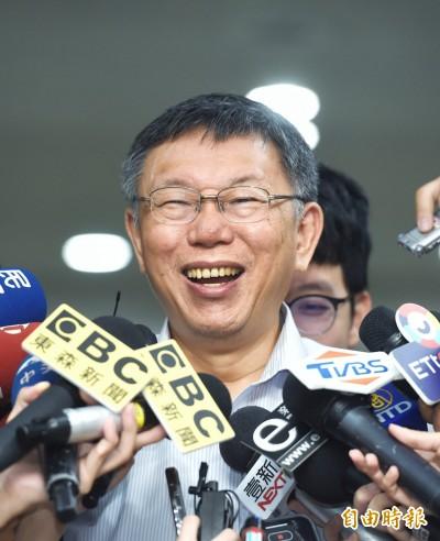 進場參選讓韓比較容易贏? 柯文哲:都是假設性題目