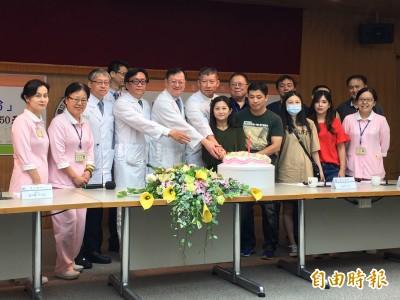 國內首例!女遭蜂螫心臟停了50天 台大醫院成功換心