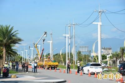 重現193最美天際線 花蓮南濱段電桿地下化