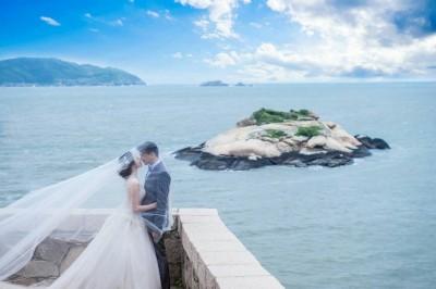 馬祖拚觀光!新人以莒光「方塊海」拍婚紗 每對補助1萬2