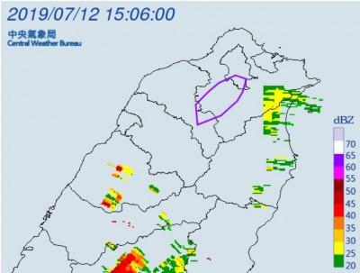慎防雷擊、劇烈降雨 北北桃12區發布大雷雨特報!