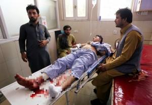 遭小男孩自殺炸彈攻擊 阿富汗婚禮染血5死40傷
