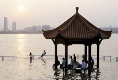 長江後浪推前浪 中國水利部發布今年第一起長江洪水警報