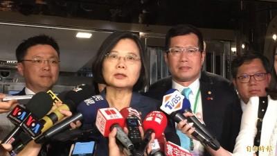 中國僑民紐約抗議蔡總統 他怒:台灣外交關你中共屁事?