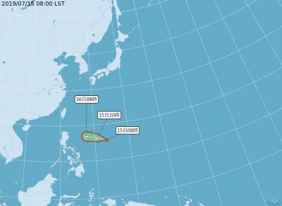 菲東熱低恐成颱「丹娜絲」 專家:週三接近台灣