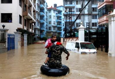 南亞暴雨累計88死 尼泊爾、印度、孟加拉數萬人流離失所