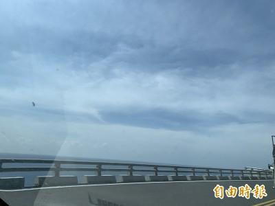 丹娜絲颱風估今晚形成 蘭嶼交通船明後天停駛