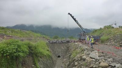 因應丹娜絲颱風來襲 北水局加強整備動起來