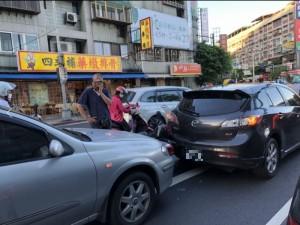 下班注意! 台北內湖車禍 瑞光路、民權東路交通回堵