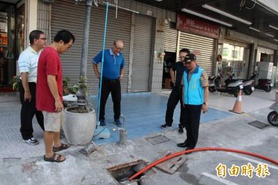 修樹、清淤、裝沙包 台東市抗颱總動員