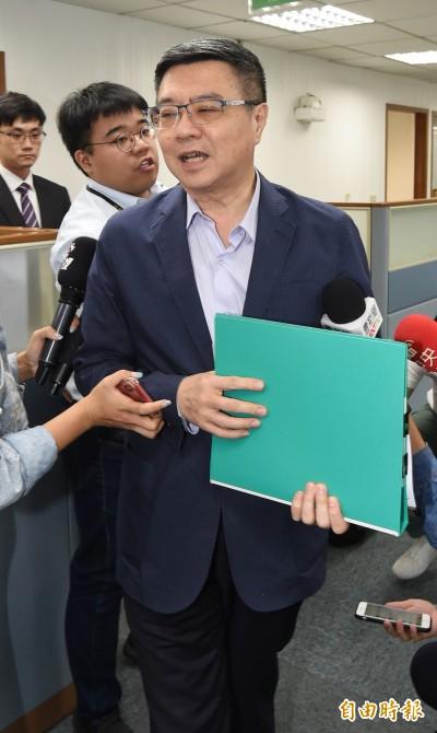 藍擬修黨章總統不兼黨主席 卓榮泰酸:國民黨不必擔心這問題