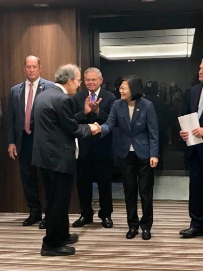 歡迎小英訪美 美眾院外交委員會直接稱「台灣總統」