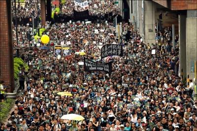 時代雜誌列網路最具影響力人物 港反送中示威者上榜