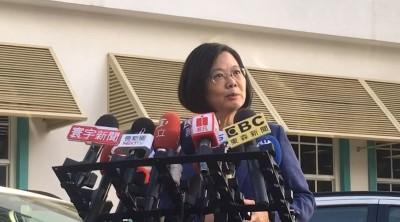 過境美國讓中國官媒抓狂 蔡英文嗆:不需要他們說三道四
