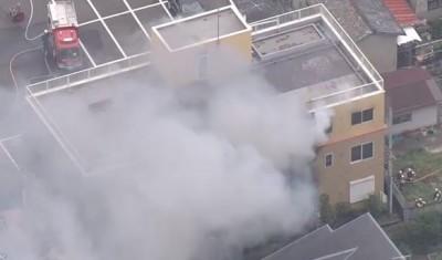 日本京都動畫大火釀30傷 10人情況危急、縱火犯被逮