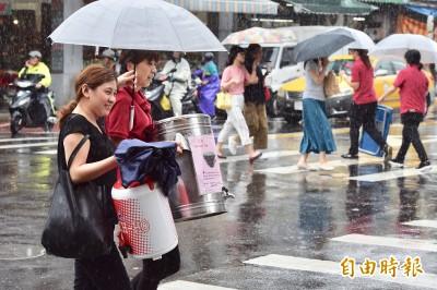 颱風剛走低壓北上 週五中南部、台東慎防短時強降雨