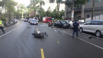 違規逆向!轎車衝撞機車  騎士枉死
