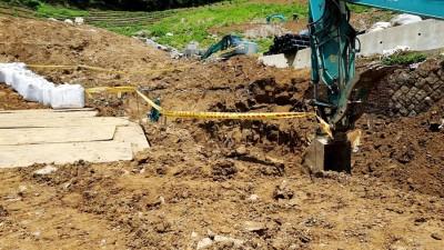 北市公園新建工程出意外 工人遭土石淹蓋重傷亡