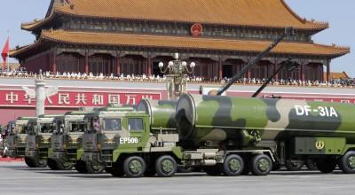 秀肌肉?中共國慶閱兵 傳展示東風飛彈、航母艦載戰機