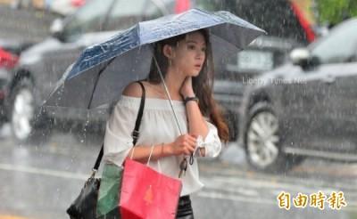 大雨還沒下完!週六中南部嚴防強降雨 大台北衝36度