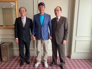 郭台銘訪日本臺灣交流協會 稱中華民國走出去