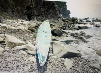 划渡蘭嶼「綠舟」翻覆41天  漂到日本岸邊被找到了