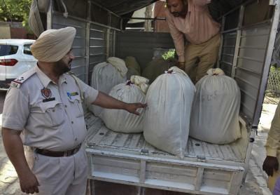 把毒品溶在黃麻袋 印度警方破獲150公斤海洛因走私案