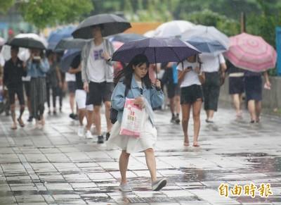 週二後天氣穩定!中南部週一有雨 各地防午後雷陣雨